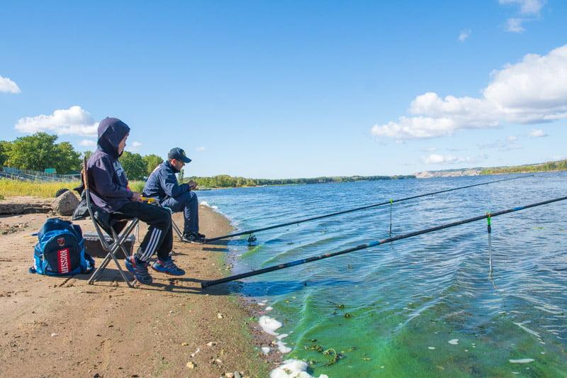 Чемпионат по рыбной ловле в Марксовском районе