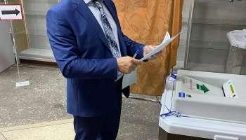 Дмитрий Романов проголосовал в первый день Выборов