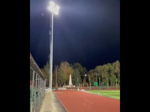 На стадионе в Марксе протестировали новое освещение - новости маркс