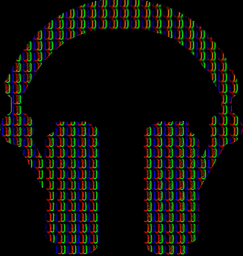 voxel records pixel headphones
