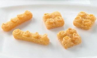 「LEGO(R)ポテト」は2種類のブロックの形をしたフライドポテトだ