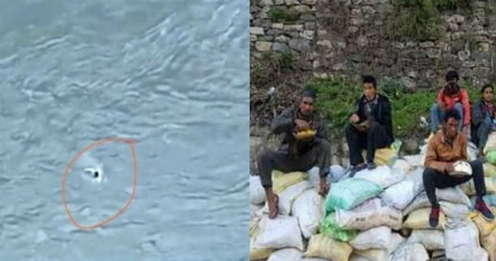 coronavirus 11 people in Dharchula Pithoragarh jump into river to reach Nepal