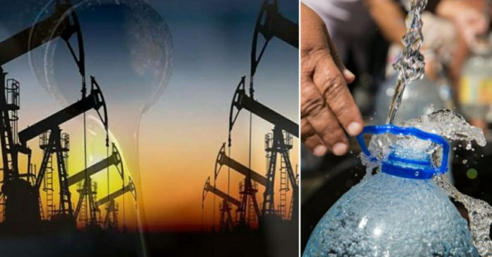 US crude oil prices dip below zero for the first time in the history