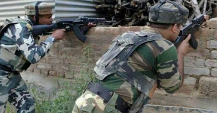 Shopian Jammu Kashmir 4 terrorist killed in an enconter with Security force