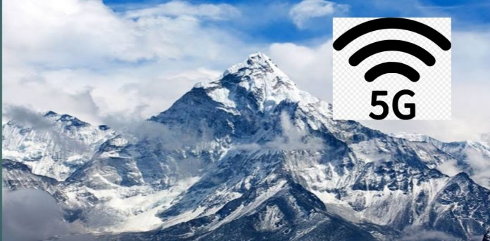 5G signals now available on Mount Everest peak