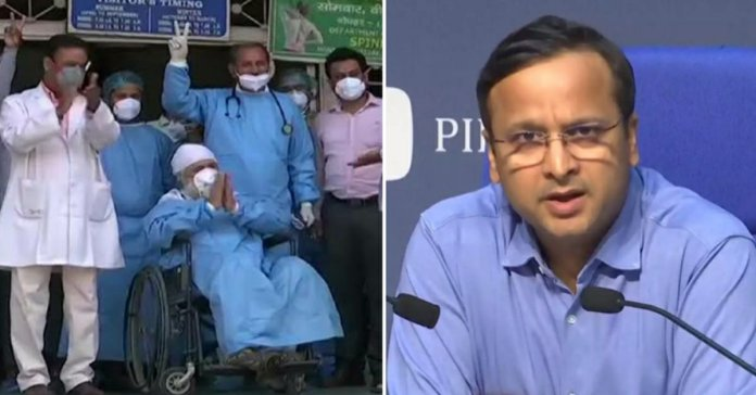 Coronavirus India: highest Record of recovered patients in 24 hours till date