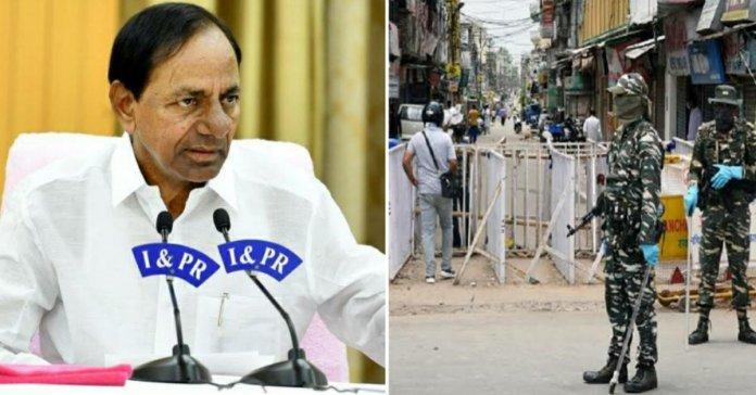 Telangana extends lockdown, CM Chandrasekhar Rao took a big decision