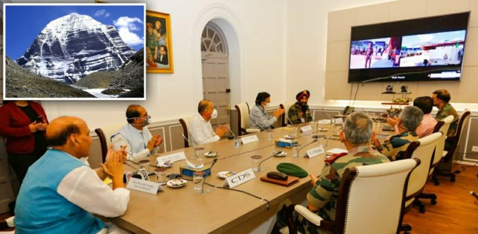 Defence Minister inaugurates Kailash Mansarovar Link Road