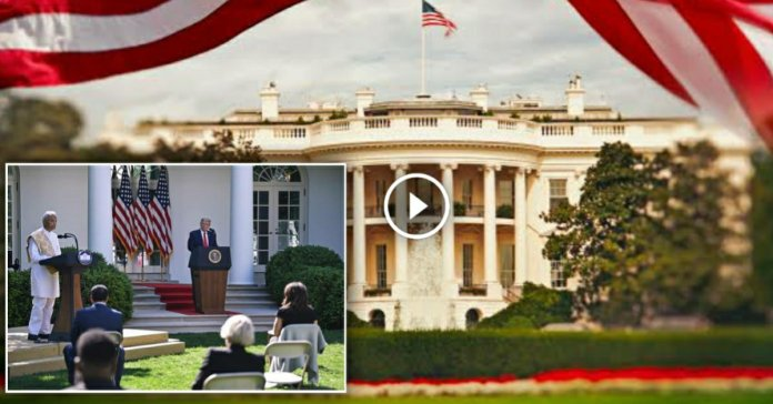 Vedic Shanti Path in White House, America by Harish Brahmabhatt