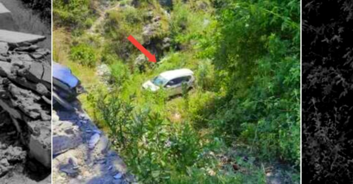 Uttarakhand Accident: Migrant's car returing from Delhi fell into ditch