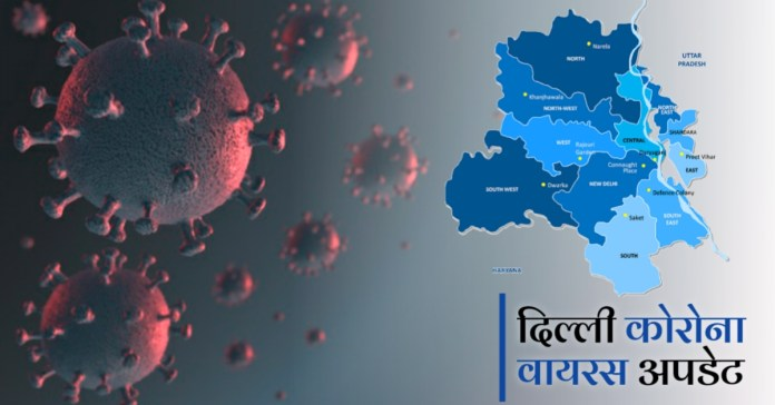 Delhi reports 571 highest coronavirus cases in a day