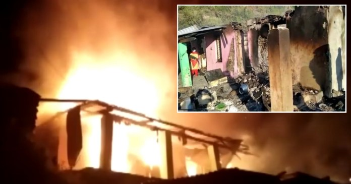 Chamba News Himachal: two houses burnt and 2 injured in a house fire