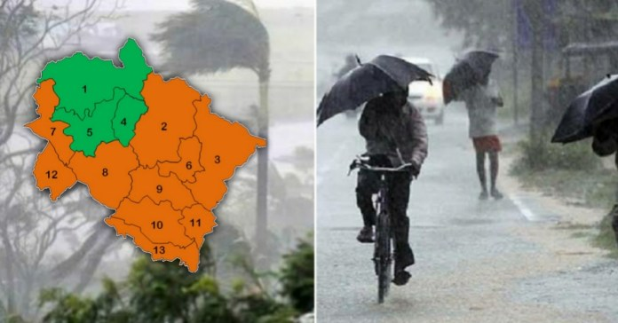 Uttarakhand Weather Alert : Meteorological department issued Orange Alert