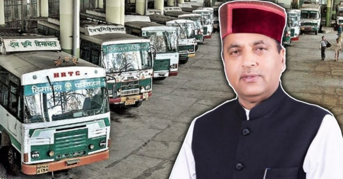 Himachal did not allow buses coming from outside states to enter the state