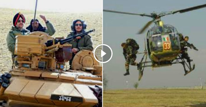 Ladakh: Breathtaking Video of Indian Army securing our Borders