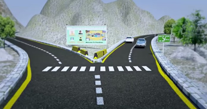 char dham road project