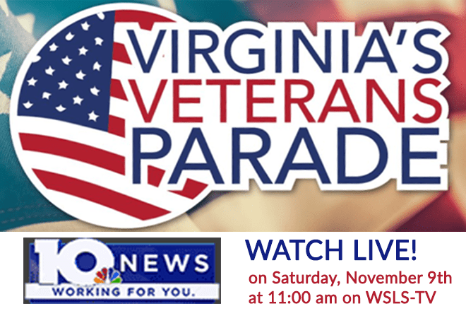 WSLS Virginia Veterans Parade