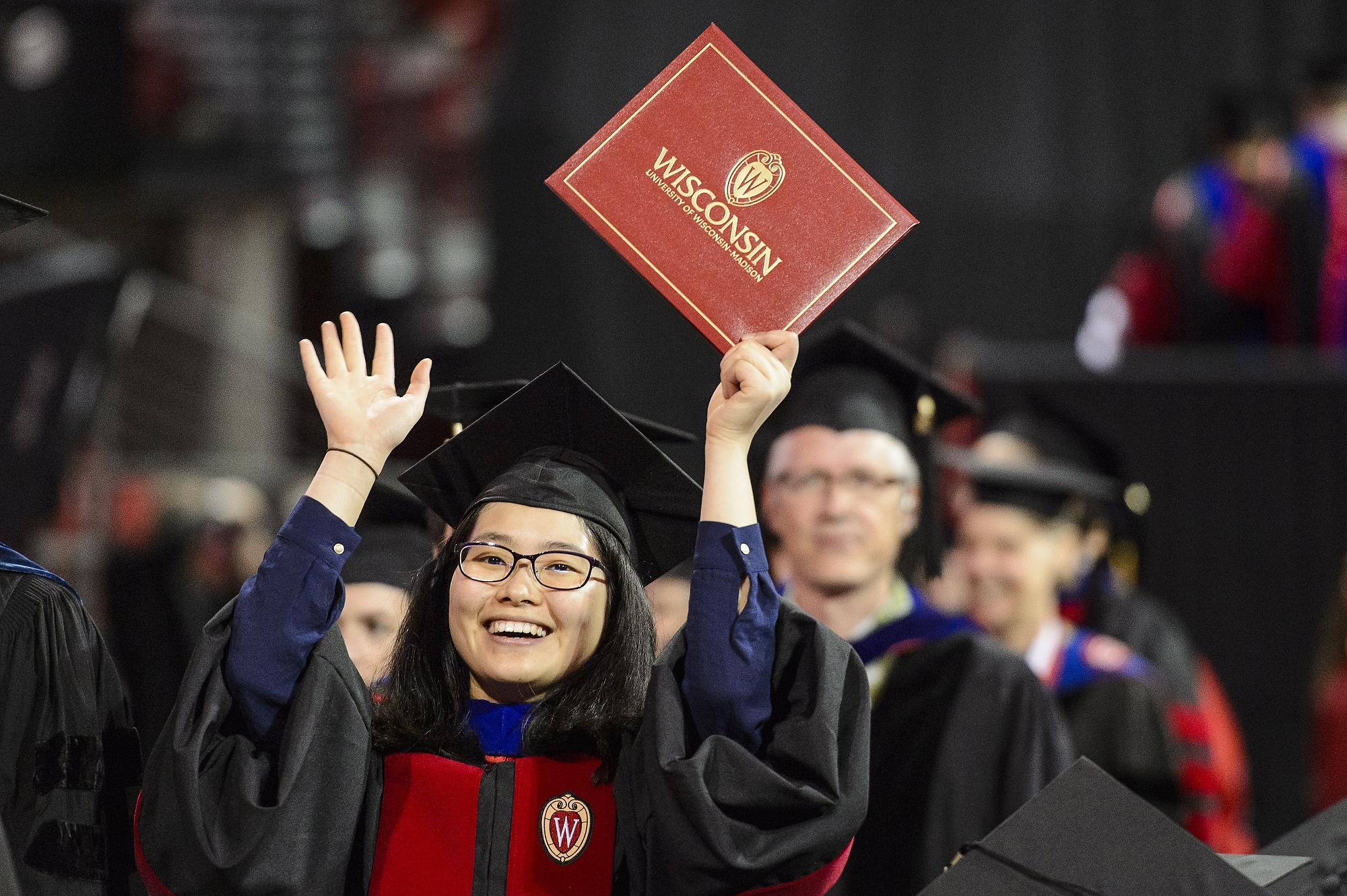 Friday Commencement Full Of 'peace, Love, Happiness'