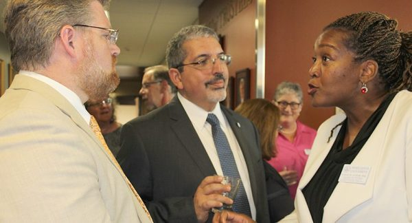 Worcester State Hosts Reception to Welcome New QCC