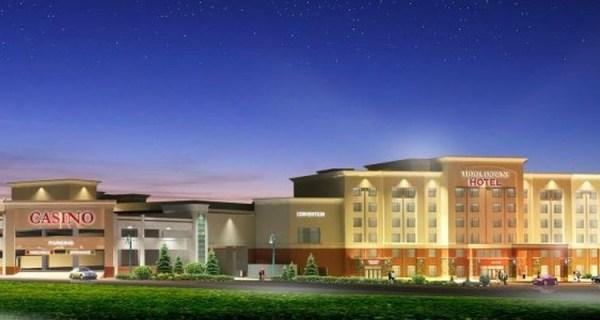 Tioga Downs starts construction of new hotel