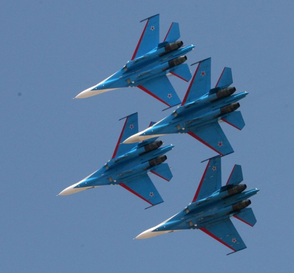 rusian plane in bangalore air show