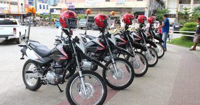 Surigao motorcycle patrol