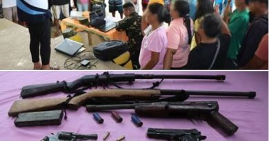 295 CPP-NPA Members Surrendered in Surigao Del Norte