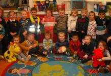 children at little gems playgorup wrexham