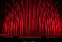 Theatre Curtain Concert Performance