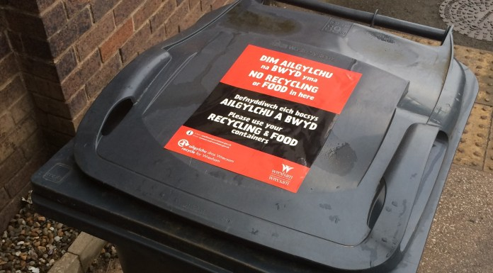 Bin Recycling Stickers