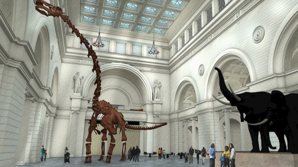 World Largest Dinosaur Coming Field Museum