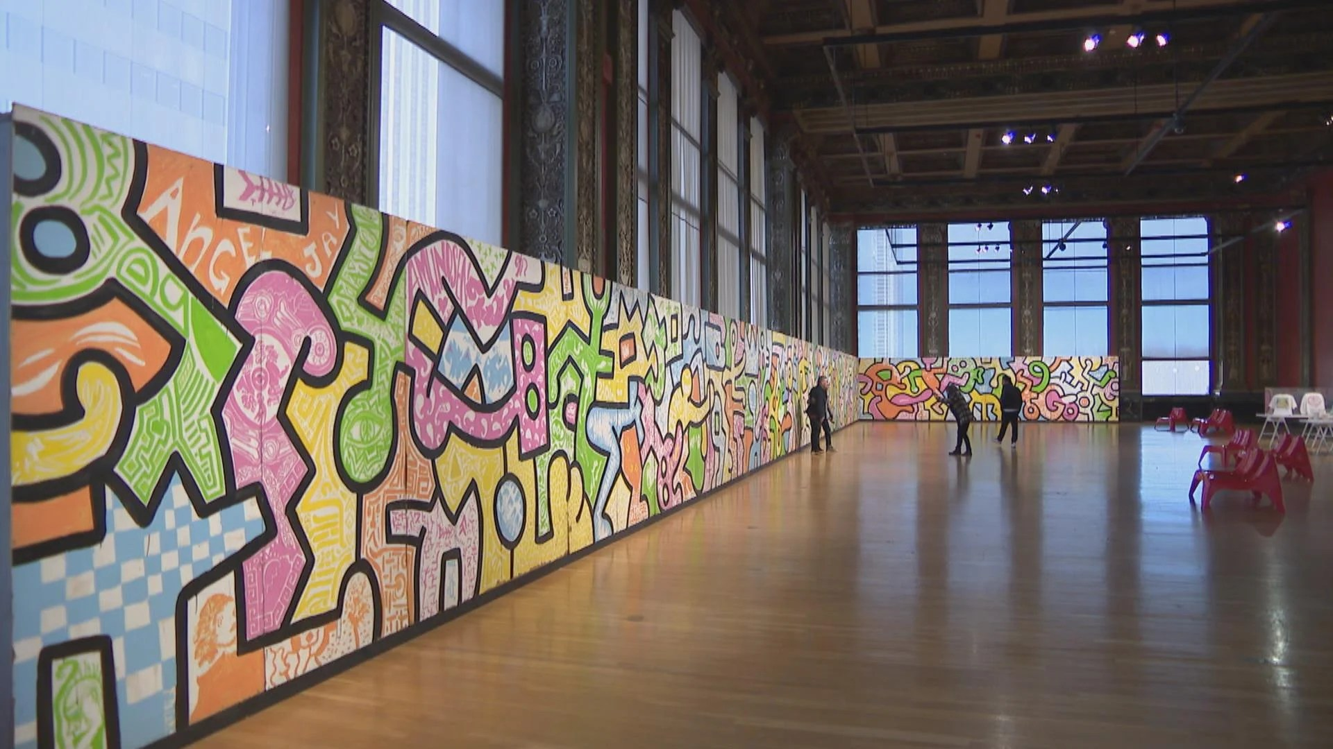 Keith Haring Chicago Mural Speaks Youth Artists