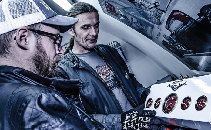 Knud Tiroch und Wolfgang Hieß