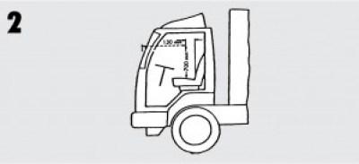 Sichtfenster LKW Windschutzscheiben Reparatur