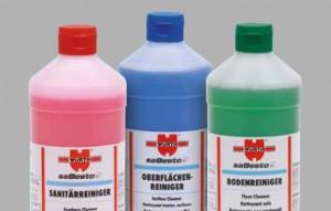 Reiniger mit Farbleitsystem
