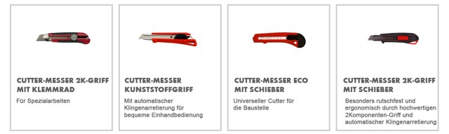 Würth Cuttermesser