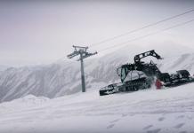 Profiwerkzeug am Gletscher