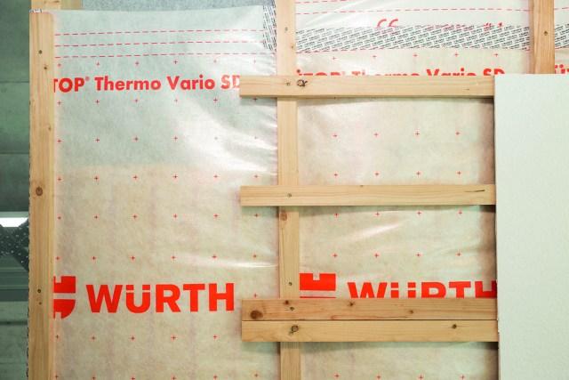 WÜTOP Dampfbremse von Würth. Foto: Würth
