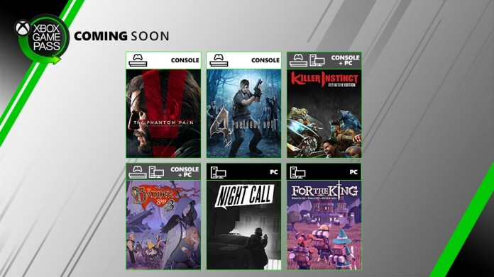 Xbox Game Pass - July 2019 Wave 2
