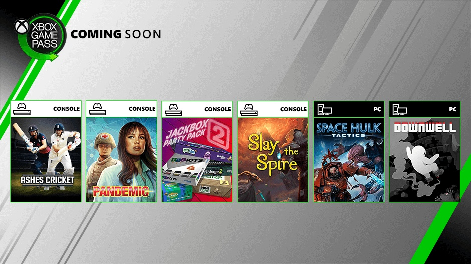 Coming Soon To Xbox Game Pass Downwell Slay The Spire