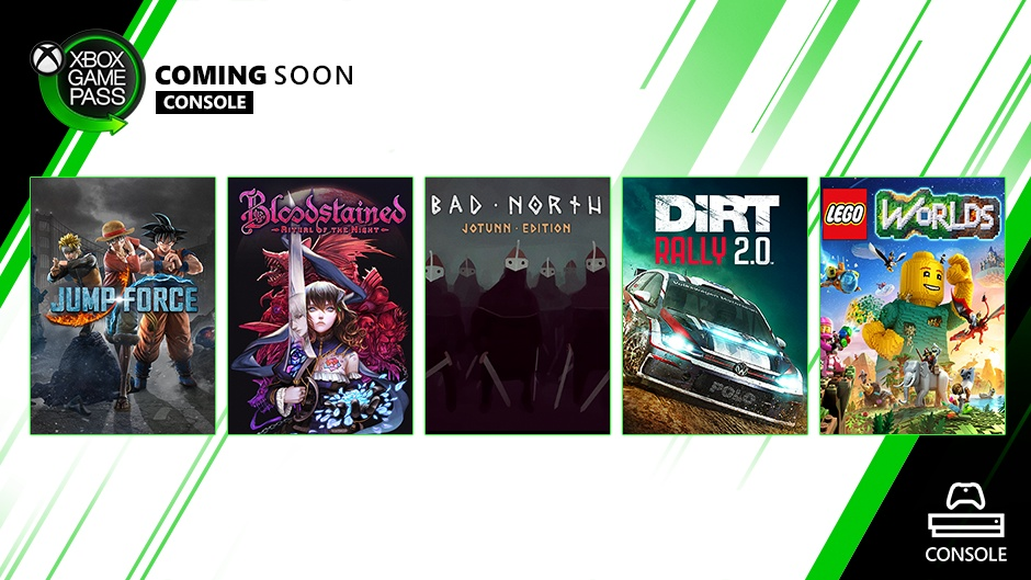 Coming Soon To Xbox Game Pass For Console Jump Force