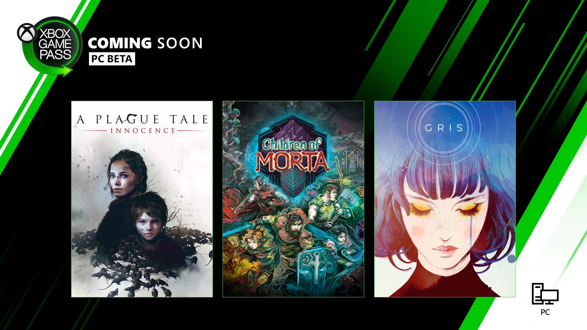 Xbox Game Pass pour PC - Bientôt disponible