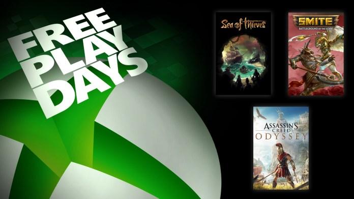 Xbox Live Free Play Days