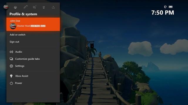 Xbox Insider - Profiles System