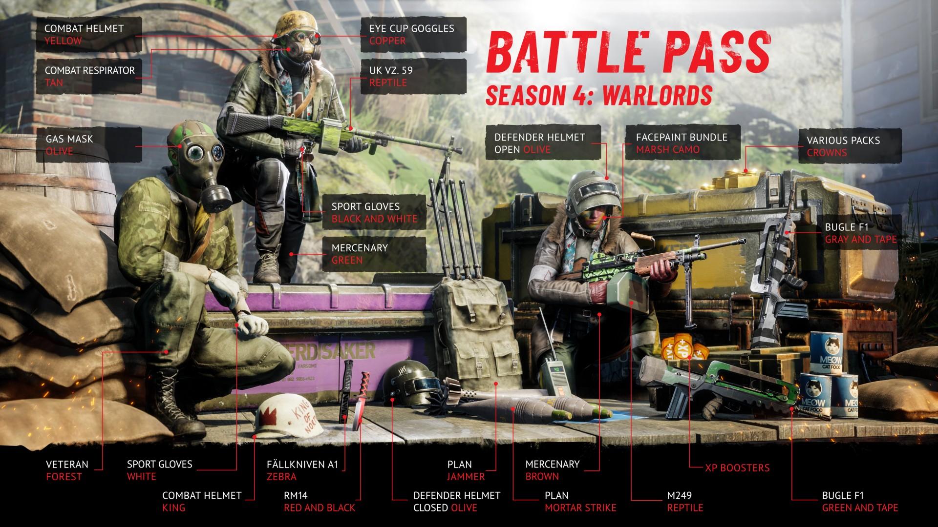 Vigor - Season 4: Warlords