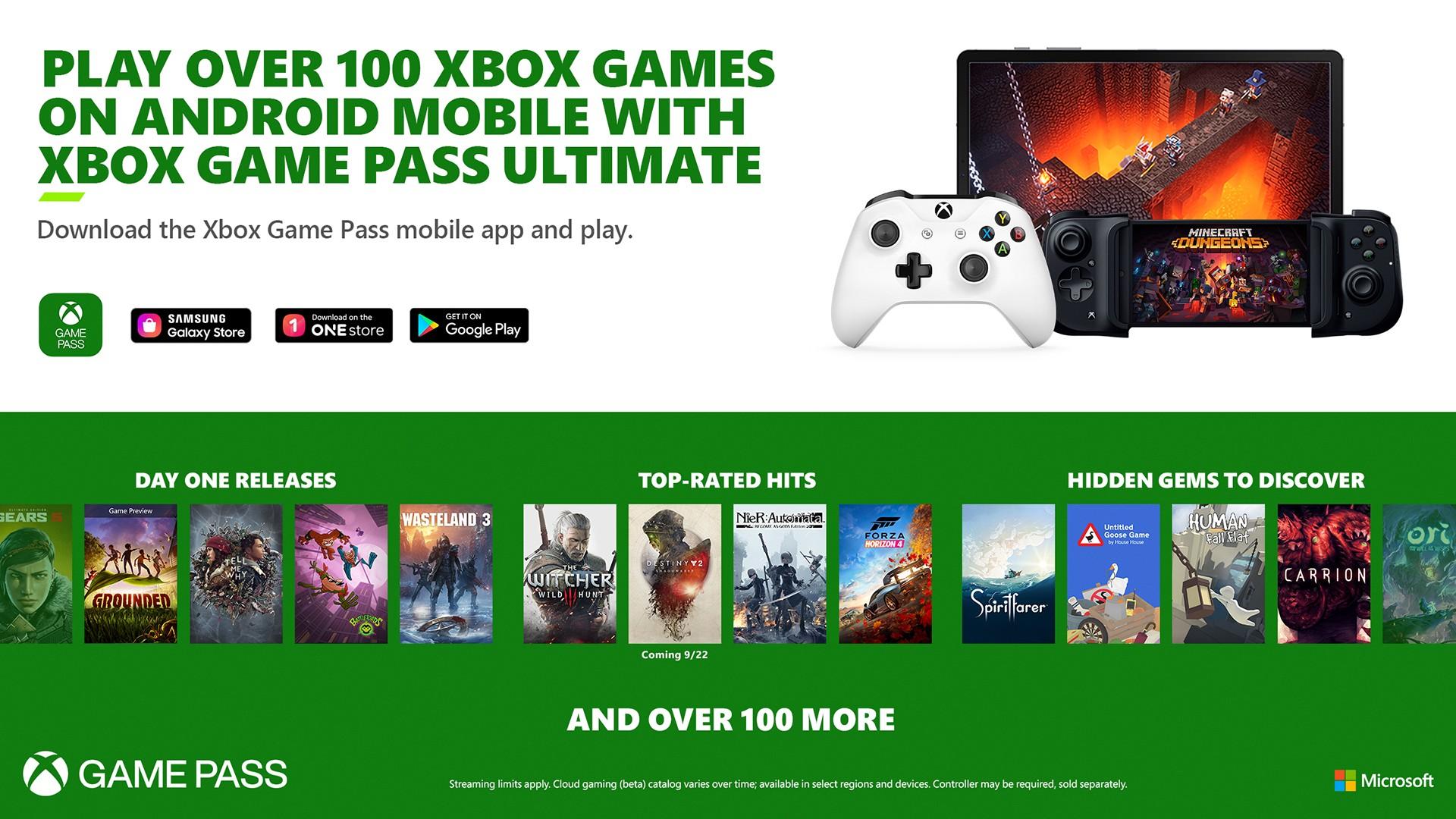 Xbox Game Pass Cloud Gaming