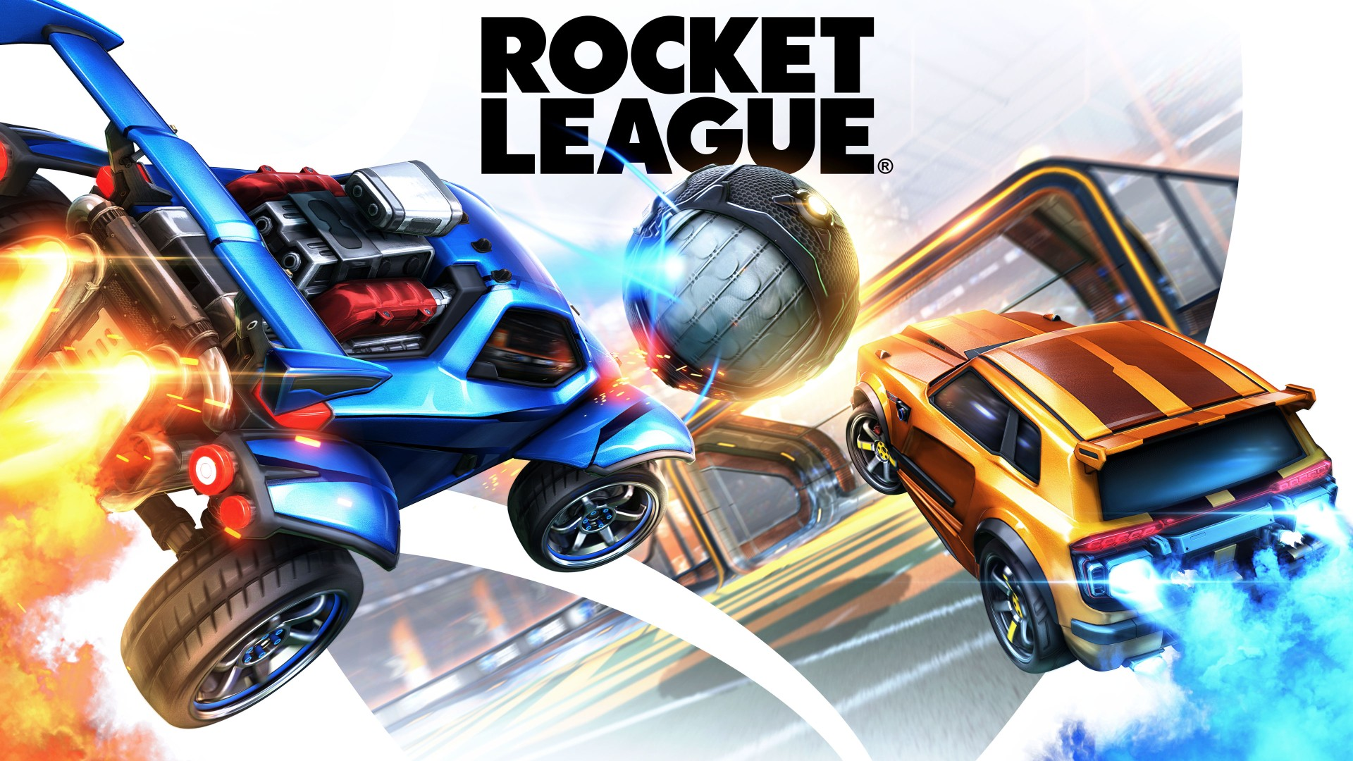 Rocket League F2P Hero Image