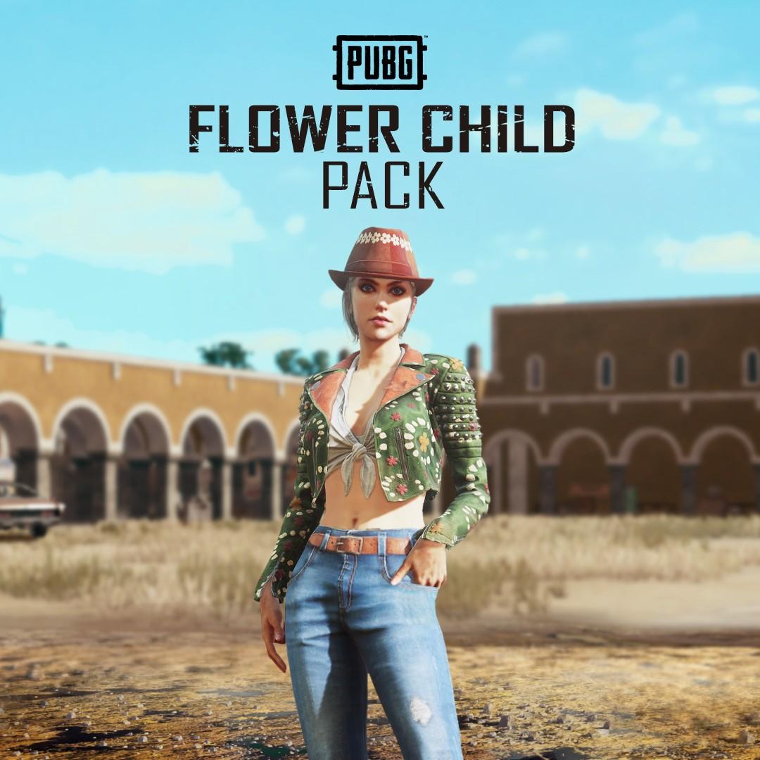 PUBG - Flower Child Pack