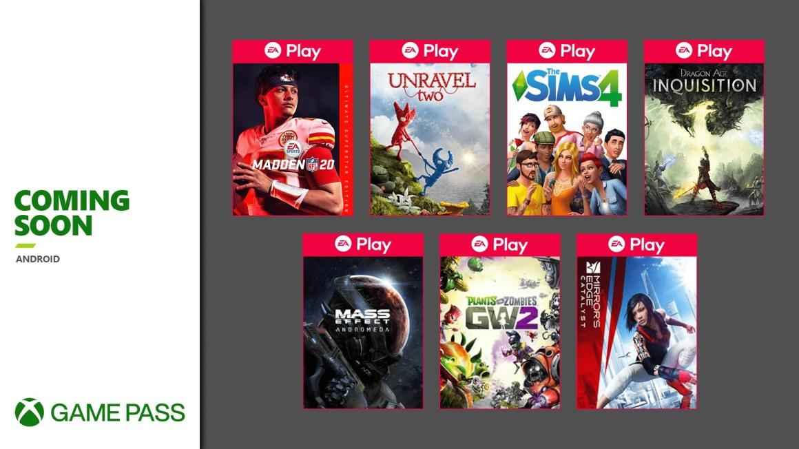 Xbox Game Pass - Coming Soon - November 2020
