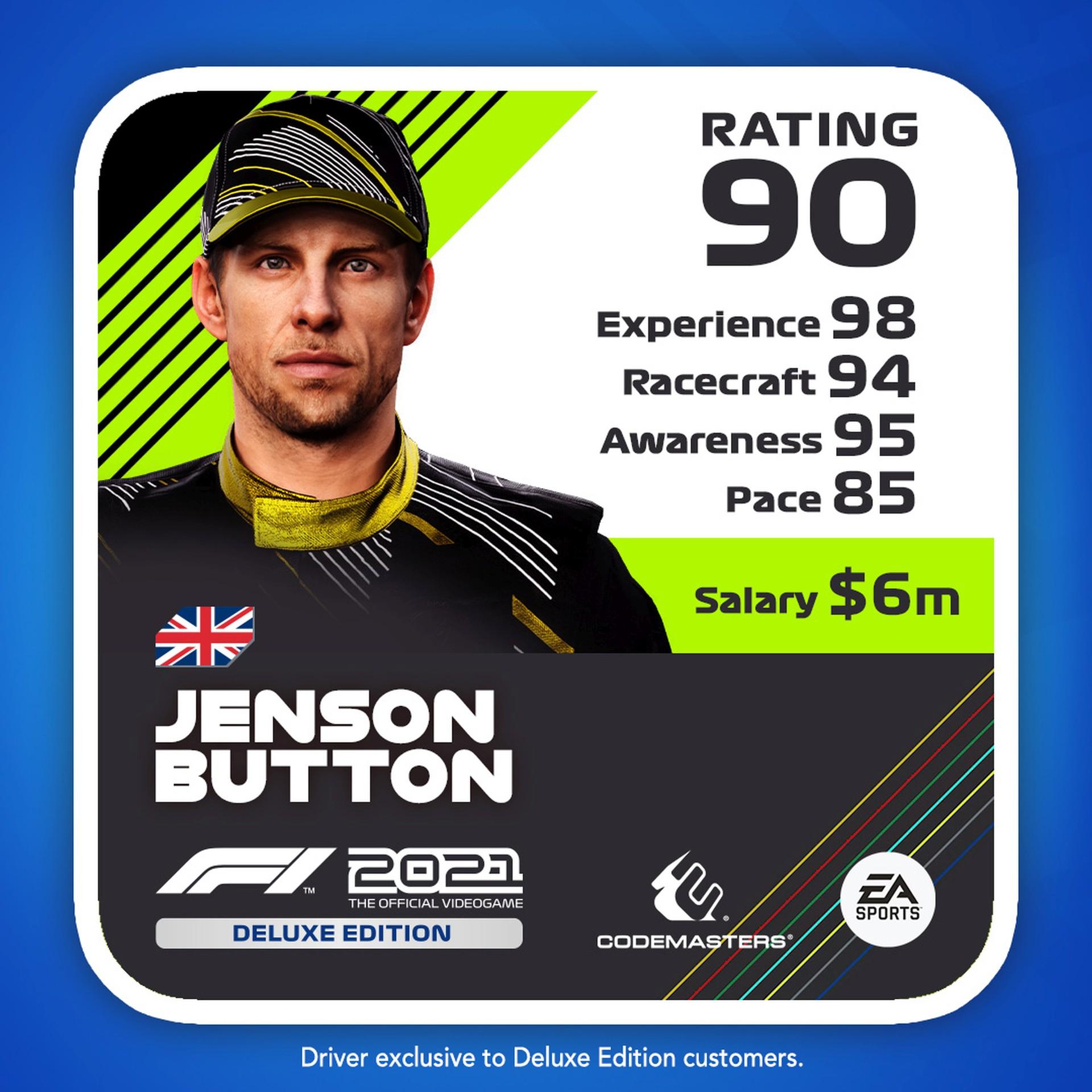 F1 2021 Drivercard